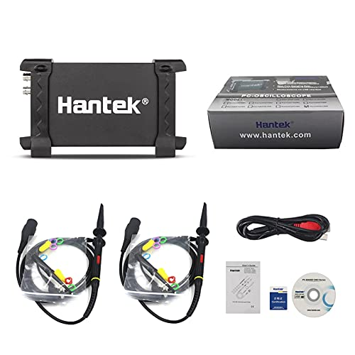 Hantek 6022BE osciloscopio 2ch USB de almacenamiento digital 20mhz PC/S