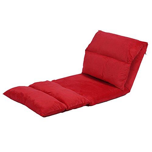 MYS-Sofas C-K-P Canapé Paresseux, Simple allongé, Pliable, Amovible et Lavable, flotteurs de Loisirs, chaises arrière de lit (Color : 3#)