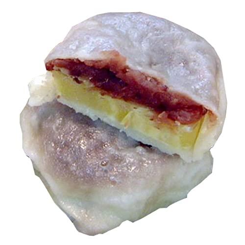 秘密のケンミンSHOW いきなり団子 黒あん10個×1セット かんしょや サツマイモを使用した、モチモチの熊本銘菓。