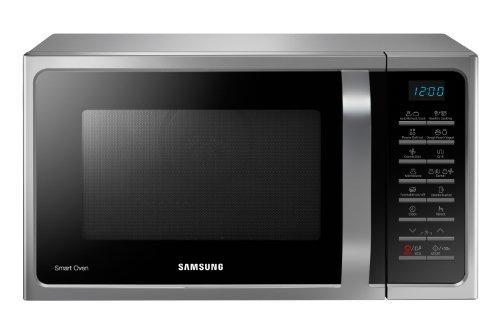 Samsung - mc28h5015as - Four à micro-ondes grill et chaleur tournante 28l 900w silver