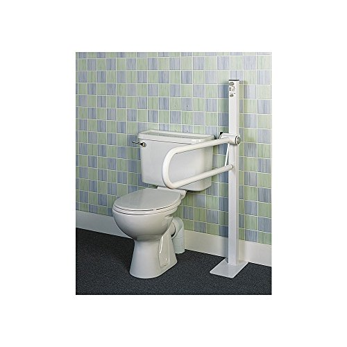 Ayudas dinamicas - Barra de baño abatible sobre mástil ✅