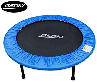 GENKI 40in Foldable Trampoline with Safety Padding Cover