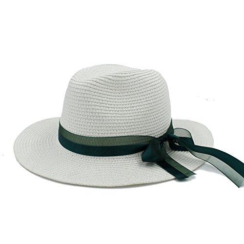 L.L.QYL Cap Sombreros de Paja para el Sol Mujeres con Sombreros Pamelas...