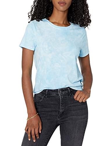 Marchio Amazon - Courtney, T-shirt da Donna, in Jersey, Girocollo, a Maniche Corte di The Drop