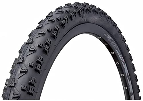 Qivor Fahrrad Reifen Rock 2 // Alle größen (Color : Black, Size : 26 x 2)