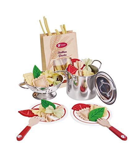 🍝 Set di pasta in feltro di Classic World | Fai finta di giocare a Food Extravaganza | Crea il tuo set di pasti | Preparazione del cibo