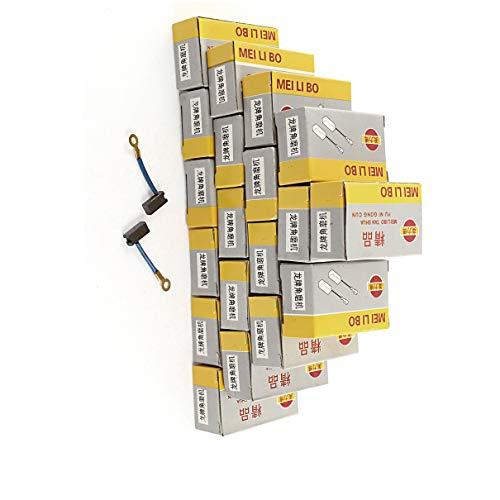 Aexit Kohlebürsten Winkelschleifer Power 13 x 5 x 4mm Dunkelblauer Goldton (e1c980aecd816b98b6dc2b436a0fd80f)