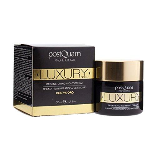 Postquam - Crema de Noche Luxury Gold | Crema Hidratante con