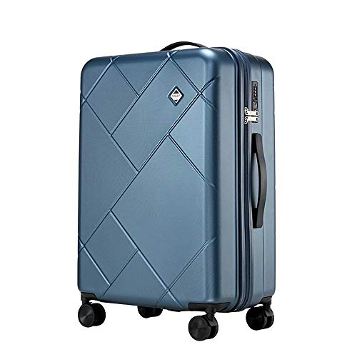 XIANGSHAN Trolley Case - Personalized PC Trolley Case Large Capacity Fashion Travel Trolley Case Waterproof Durable Security Box 31 Inch 65 * 26 * 43 Cm