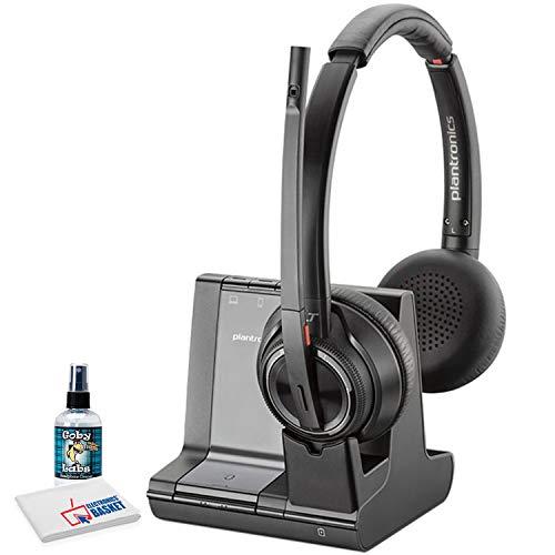 Plantronics 203948-01 Savi W445 USB Wireless Headset System Landline Telephone Accessory