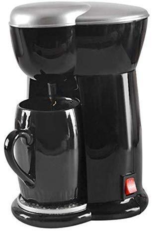 YAeele Máquina de café, el té y el café de la máquina de Doble propósito, Drip-American Type Máquina de café, Pequeño Hogar Multifuncional automática Cafetera, Regalos for los Amantes del café