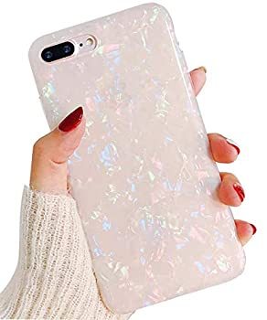 J.west iPhone 8 Plus Case/iPhone 7 Plus Case Cute Ultra Thin [Tinfoil Series] Macaron Color Bling Lightweight Soft TPU Case Cover for iPhone 7 Plus / 8 Plus  Colorful