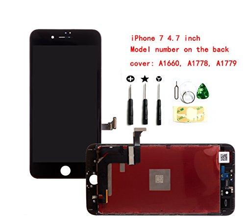 Ersatz-LCD-Bildschirm für iPhone 6S Plus, 14 cm (5,5 Zoll), komplettes Digitizer-Montageset, Frontglas, 3D-Touch-Display, benötigt Werkzeug-Kit