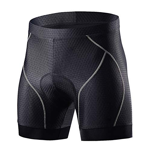 KHHK Pantalones Cortos de Ciclismo de Bicicleta Pantalones Cortos de Ciclo de Esponja Pantalones de Ciclismo Antideslizantes para Hombres