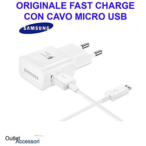 Adaptateur-chargeur original pour Samsung - Charge rapide, Cable Micro USB J3 J5 J7 2016 2015 2017 A3 A5 A7 J6 A6 EP-TA20EWE