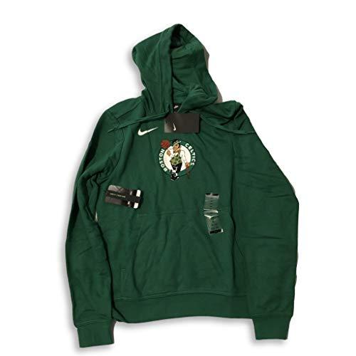 Nike Boston Celtics Club Fleece Primary Logo Women's Green Hooded Sweatshirt (X-Small)