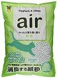 air 消臭する紙砂 森林 6.5L