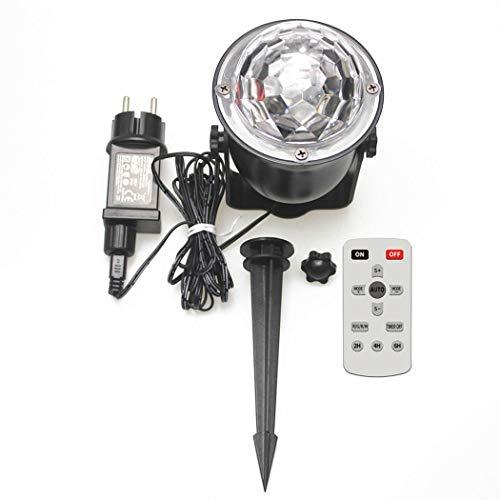 Acecoree LED Farbwechsel Nachtlicht-Lampe mit Projektion RGB Projektionslampe Flammen Projektionslicht Weihnachten Halloween Deko Licht Bühnenlampen