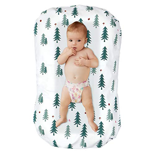 DaMohony - Tumbona para bebé (0-6 meses) Cedro