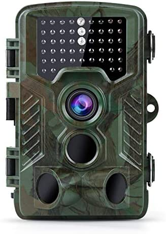 Coolife Trail Game Camera 21MP 1080P Hunting Wildlife Camera with 3 Infrared Sensors 49Pcs IR product image