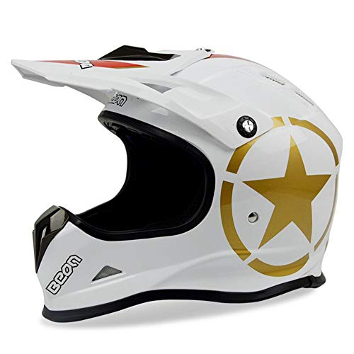 LOLIVEVE Nederland Beon Professionele Off-Road Helm Motorhelm Mannen En Vrouwen Vier Seizoenen Rijden Motorfiets Rider Racing Helm