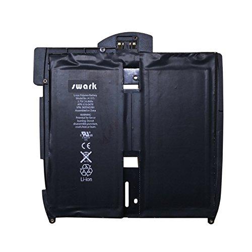 Swark Akku A1315 Compatible with Apple iPAD, iPAD 1st, iPAD A1219, iPAD A1315, iPAD A1337 616-0448, 616-0478, 969TA028H