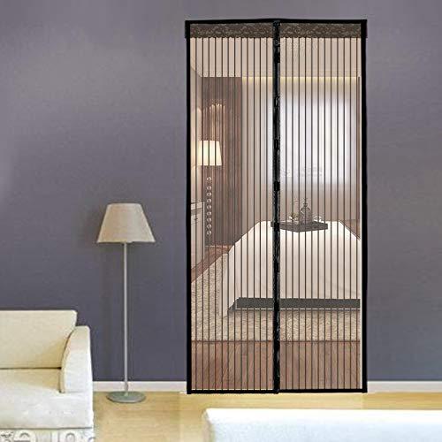 Cortina Magnética Para Puertas, Malla pequeña, Manos Libres,Mosquitera Magnética Para Puertas de Salón, Balcón, Corredor (90*210cm)