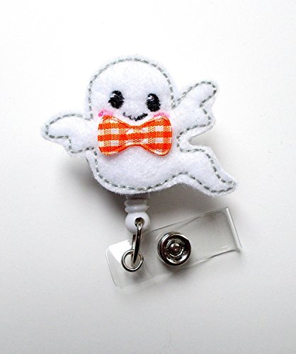 Baby Ghost - Name Badge Holder - Labor and Delivery Badge Reel - Nursing Badge - Teacher Badge - Nurses Badge - Halloween Badge - Ghost Badge - Holiday Badge - Badge Holder