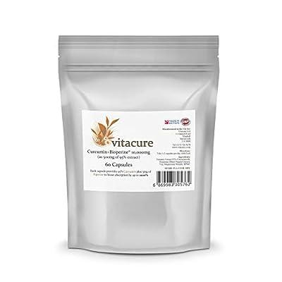 Turmeric 10,000MG Plus Bioperine® - 95% Curcuminoids - Capsules (60)