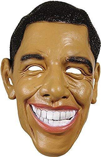 P 'tit Clown–30124–Maske Erwachsene weiche Obama–Einheitsgröße