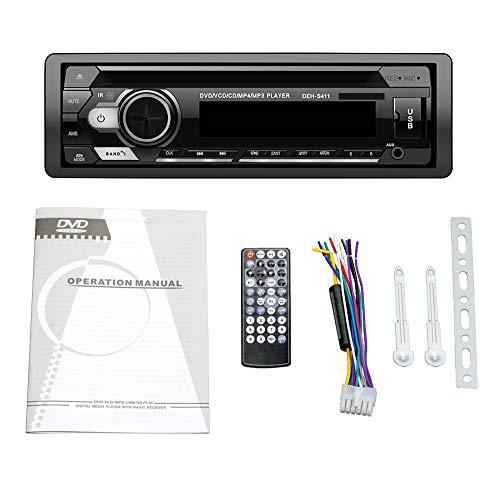 CareMont Universale 1 DIN Car Stereo Lettore MP3 Autoradio CD VCD Dvd AUX USB FM Radio Auto Audio Car Player