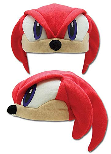 Great Eastern Sonic The Hedgehog Series: Casquette Polaire Knuckles