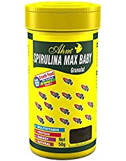 Ahm Spirulina Max Baby Granulat 100 Ml Balık Yemi