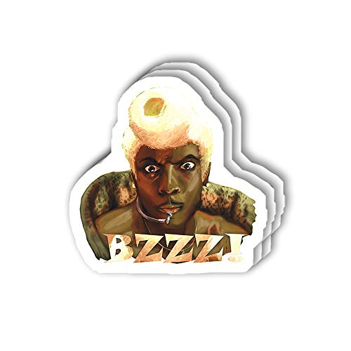 msgolbi 3 PCs Stickers Ruby Rhod Sticker for Laptop, Phone, Cars, Vinyl Funny Stickers Decal for Laptops, Fridge