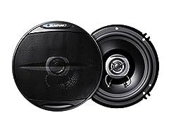 Blaupunkt Pure 66.2 165 mm Two Way Coaxial Speaker,280 Watt (Black),Blaupunkt,PURE COAXIAL 66.2,Blaupunkt Pure speaker,Blaupunkt speaker,speaker Blaupunkt PURE COAXIAL 66.2