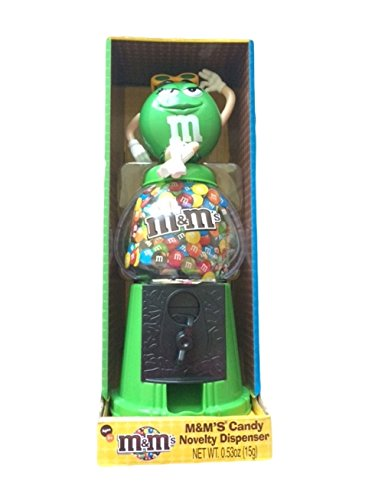 M&m's Candy Novelty Dispenser - Verde By M & M'S