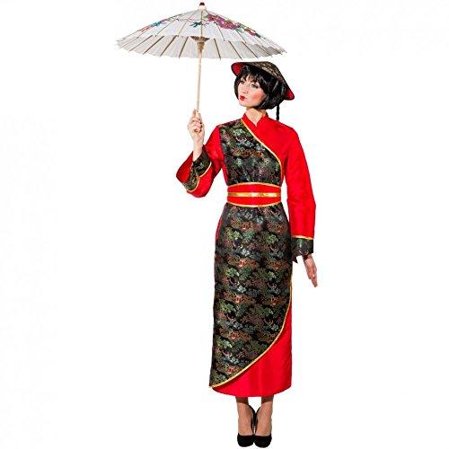 Kostüm Chinesin Gr. 36 Kleid lang Fasching Karneval Asiatin Andere Länder China