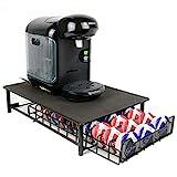 60 Large Coffee Pod Holder | Tassimo Pod Compatible | Coffee Machine Stand | Pod Drawer Dispenser | Kitchen Storage | M&W