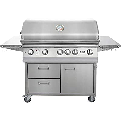 Lion 40 Inch Stainless Steel Natural Gas Grill On Cart