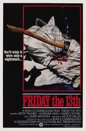 Friday The 13TH – Film Poster Plakat Drucken Bild – 43.2 x 60.7cm Größe Grösse Filmplakat Jason Voorhees