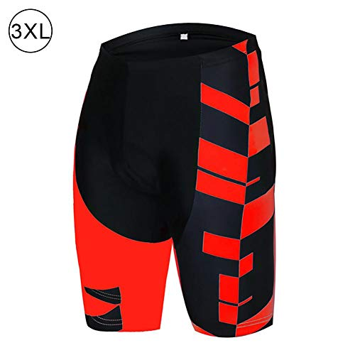 CLOTH-BEST Men's Cycling Shorts,3D Gel Padded Bicycle Riding Pants Breathable Quick Dry Bike Biking Clothes Cycle Wear Tights