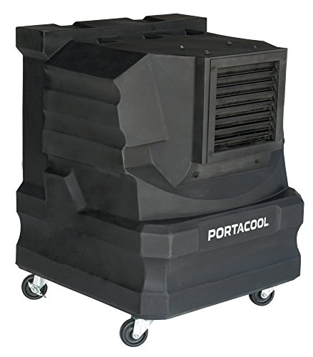 PortacoolPACCYC02 Cyclone 2000 Portable Evaporative Cooler with 500 Square Foot Cooling Capacity,...