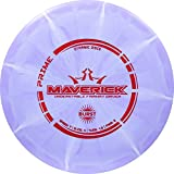 Dynamic Discs Prime Burst Maverick | Fairway Disc Golf Driver | Controllable and Versatile Frisbee Golf Disc | Beginner Friendly | 170g Plus | Stamp Color and Burst Pattern Will Vary (Purple)