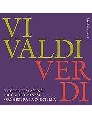 ヴィヴァルディ & ヴェルディ : 「四季」 / リッカルド・ミナージ | ラ・シンティッラ管弦楽団 (Vivaldi & Verdi : The four seasons / Riccardo Minasi (Conductor) | Orchestra La Scintilla) [CD] [Import] [日本語帯・解説付]