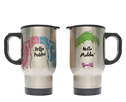 41rNsj-HrfL Harley Quinn Travel Mugs