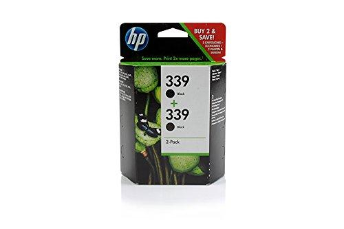 Original HP C9504EE / Nr 339 Tinte Black (Doppel Pack) für HP PhotoSmart 8450 GP