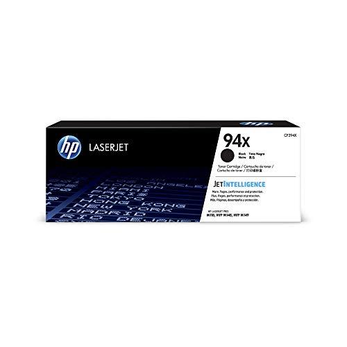 HP 94X (CF294A) Original Toner (mit hoher Reichweite für HP LaserJet Pro M118, HP LaserJet Pro M148) schwarz