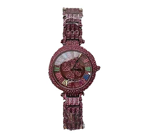 Relojes para Mujer Tendencias Moda para Correr Cuatro Hojas Relojes De Acero Inoxidable Clásicos Haga…