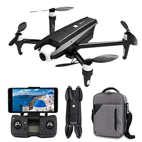 DCLINA Drone GPS Professionale con Fotocamera FPV 6K, Drone Rc Pieghevole per Adulti, Trasmissione Immagini in Tempo Reale 5G HD, Gimbal autostabilizzante a 2 Assi, Distanza del Telecomando 1200 m