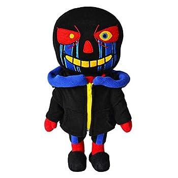 Diger Undertale Black Skull Plush Toy